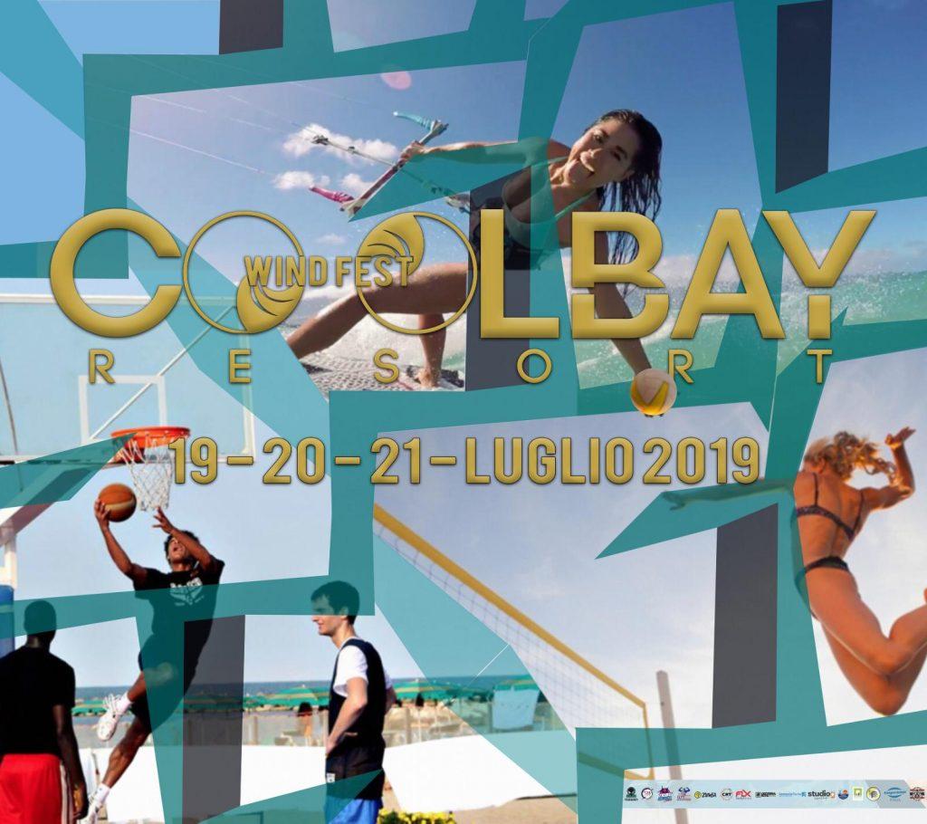 Wind Fest Locandina della tre giorni al cool bay resort