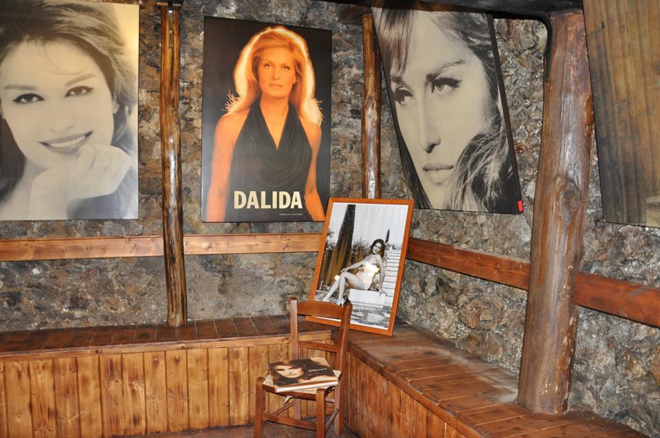 Foto di Dalida cantante calabrese