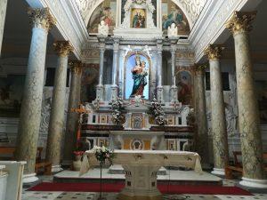 da lamezia - Madonna di conflenti esposta nella chiesa