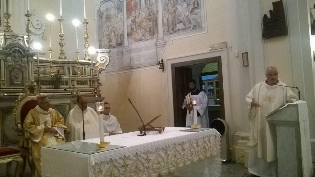 Il Benvenuto a Sua Eccellenza Del Superiore Padre Giovanni Sposato