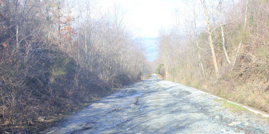 da lamezia - lunga strada dritta e non perfettamente asfaltata