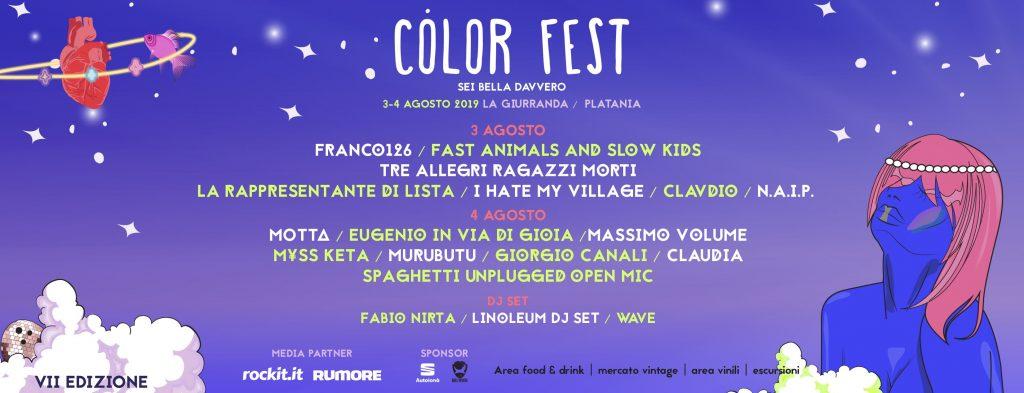 Locandina Color Fest 2019