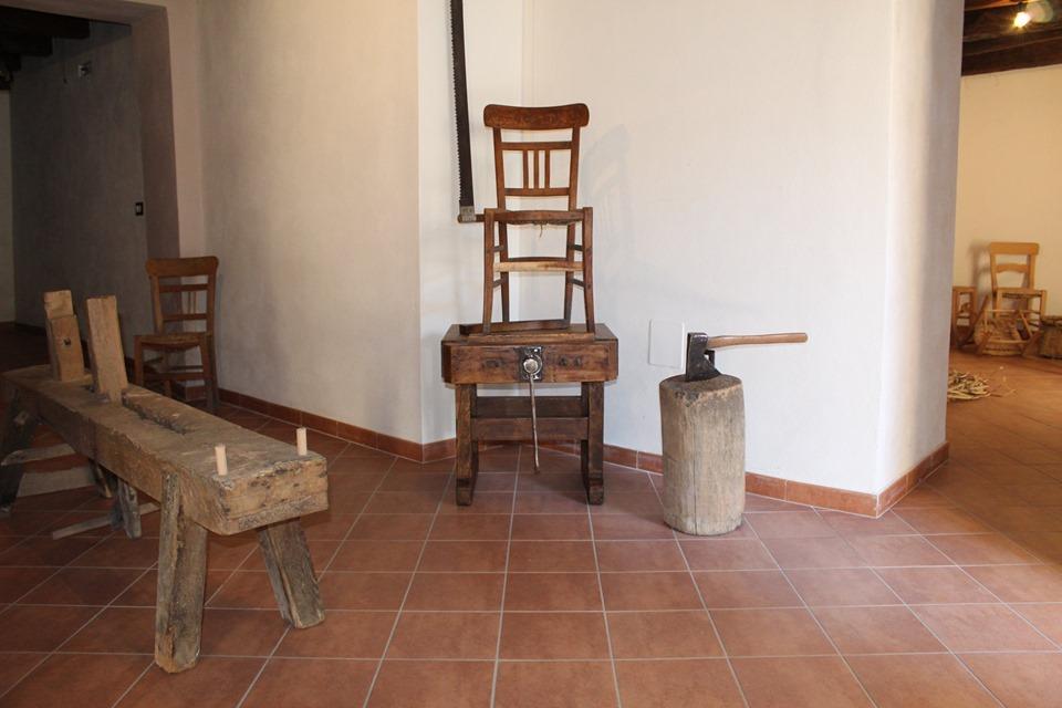 una stanza del museo della civiltà contadina