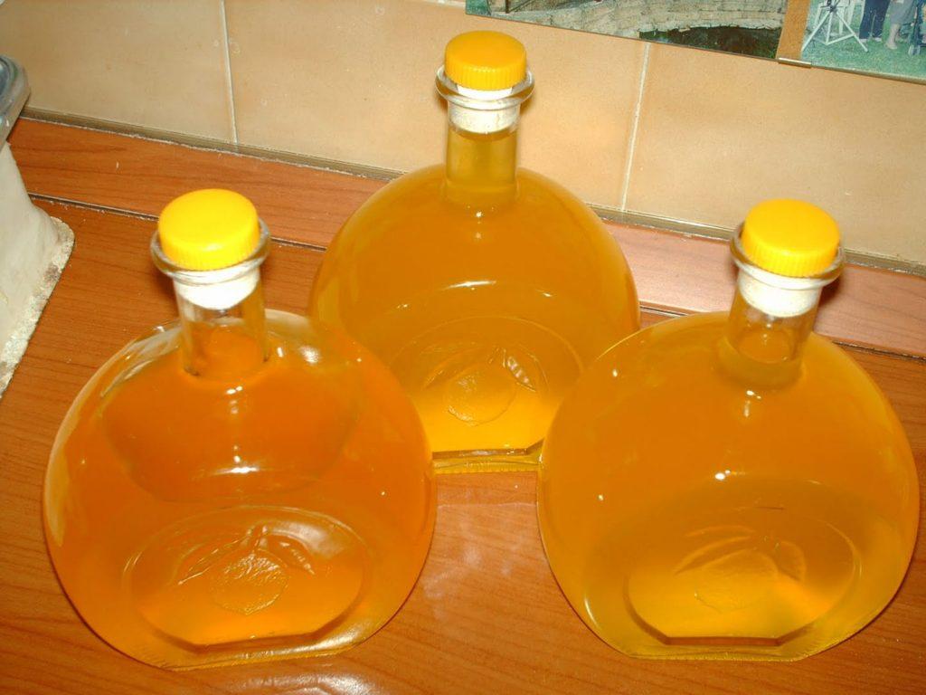 Liquore Con I Fichi Dindia Preparato in Casa
