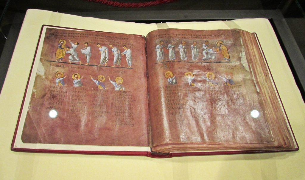 Sciabaca Codex Purpureus