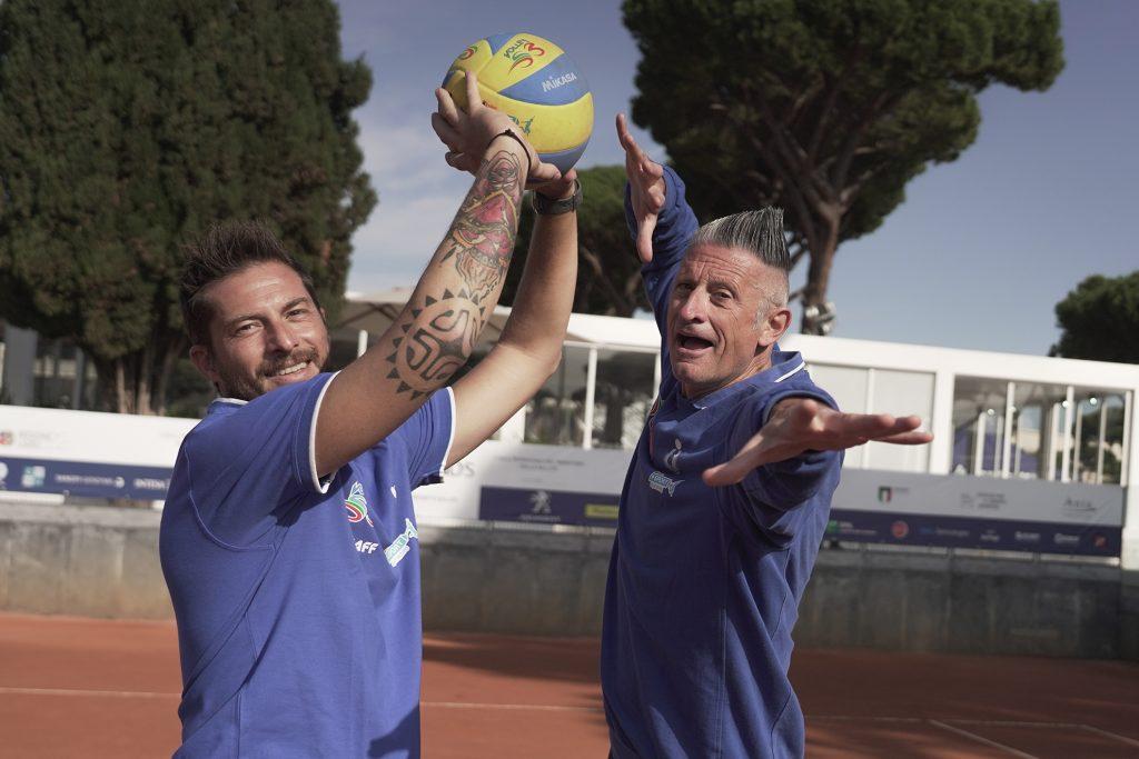 I Testimonial Del Gioca Volley Lucchetta E Vermiglio