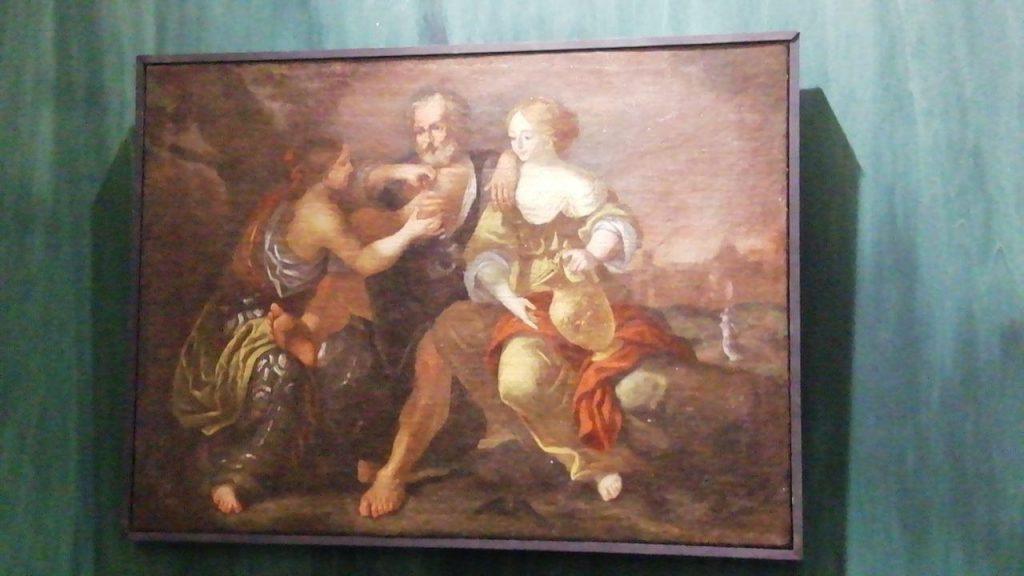 Lot e le sue figlie di autore anonimo fa parte della collezione riverberi pittorici
