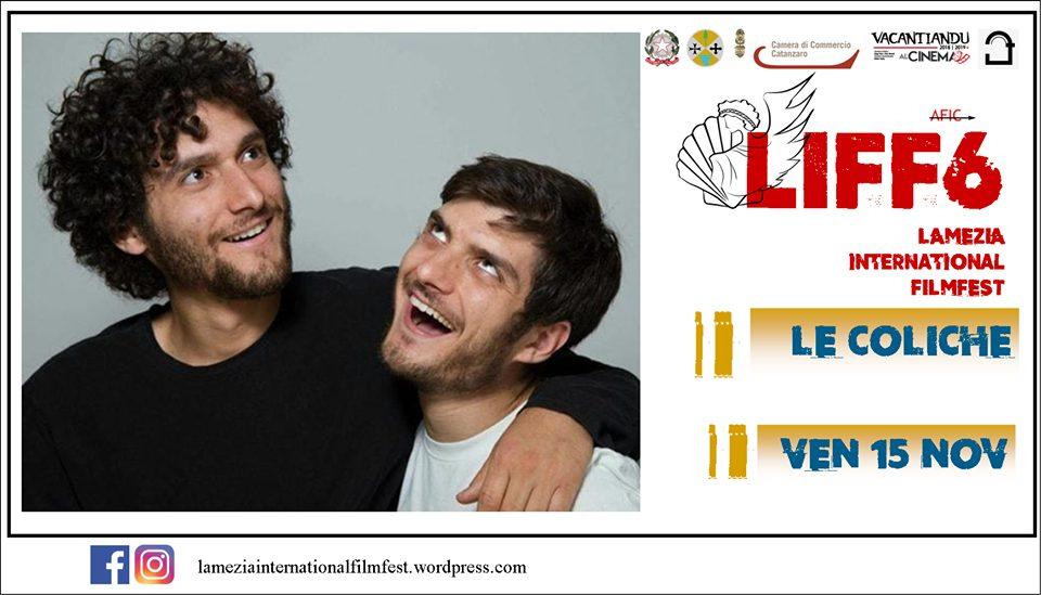 comici di le coliche parteciperanno alla sesta edizione del festival