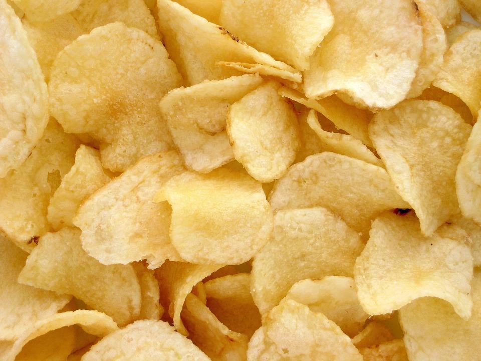 Chips tagliate sottili