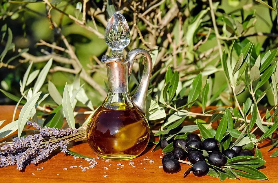 Oro Oliva olio in bottiglia