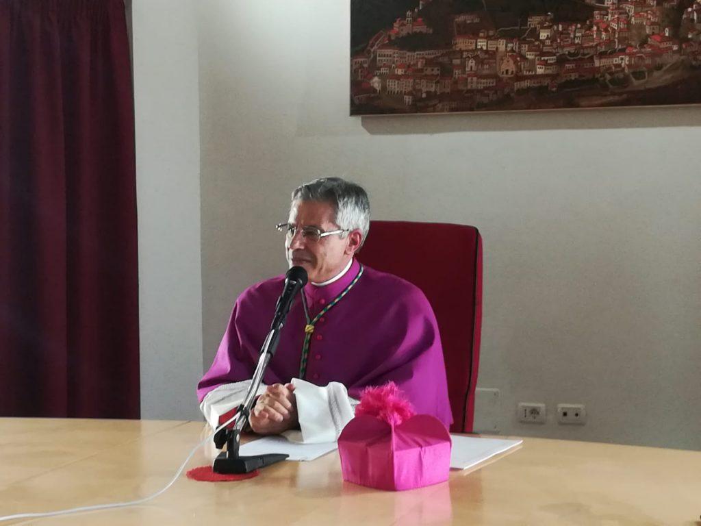 il Vescovo Giuseppe Schillaci
