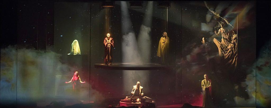 Una scena de La Divina Commedia