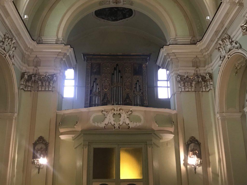 L'organo a canne del XVII secolo