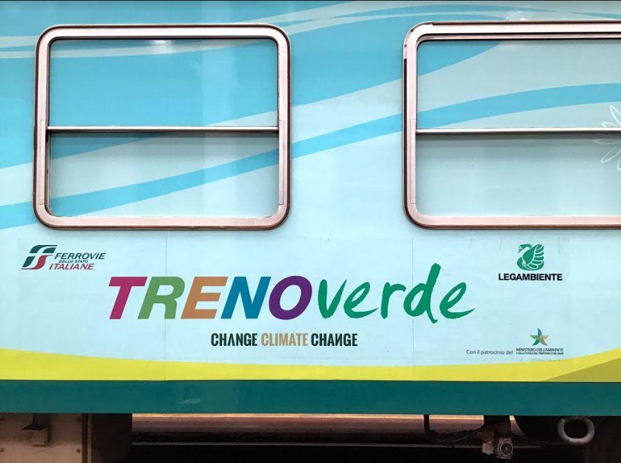 Treno Verde a difesa del Clima