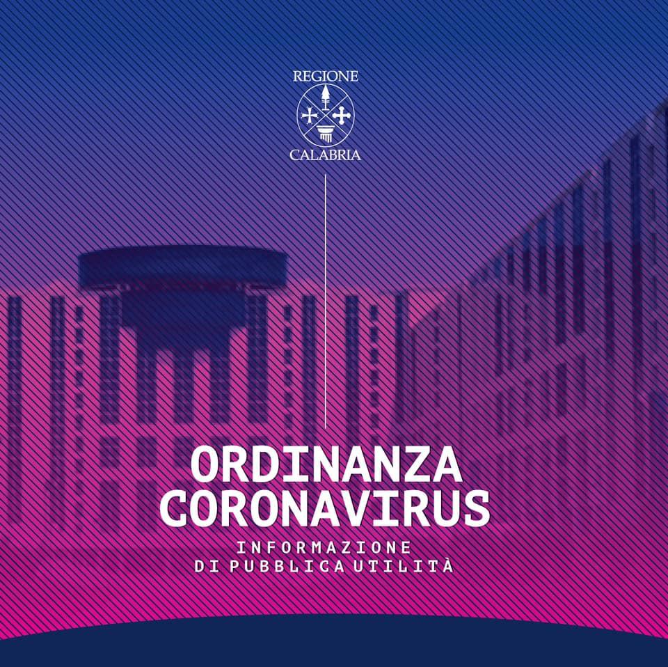 regione Calabria Informazione sul coronavirus
