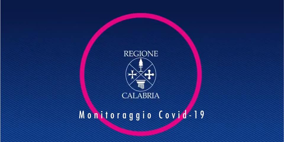 regione Calabria Monitoraggio covid 19