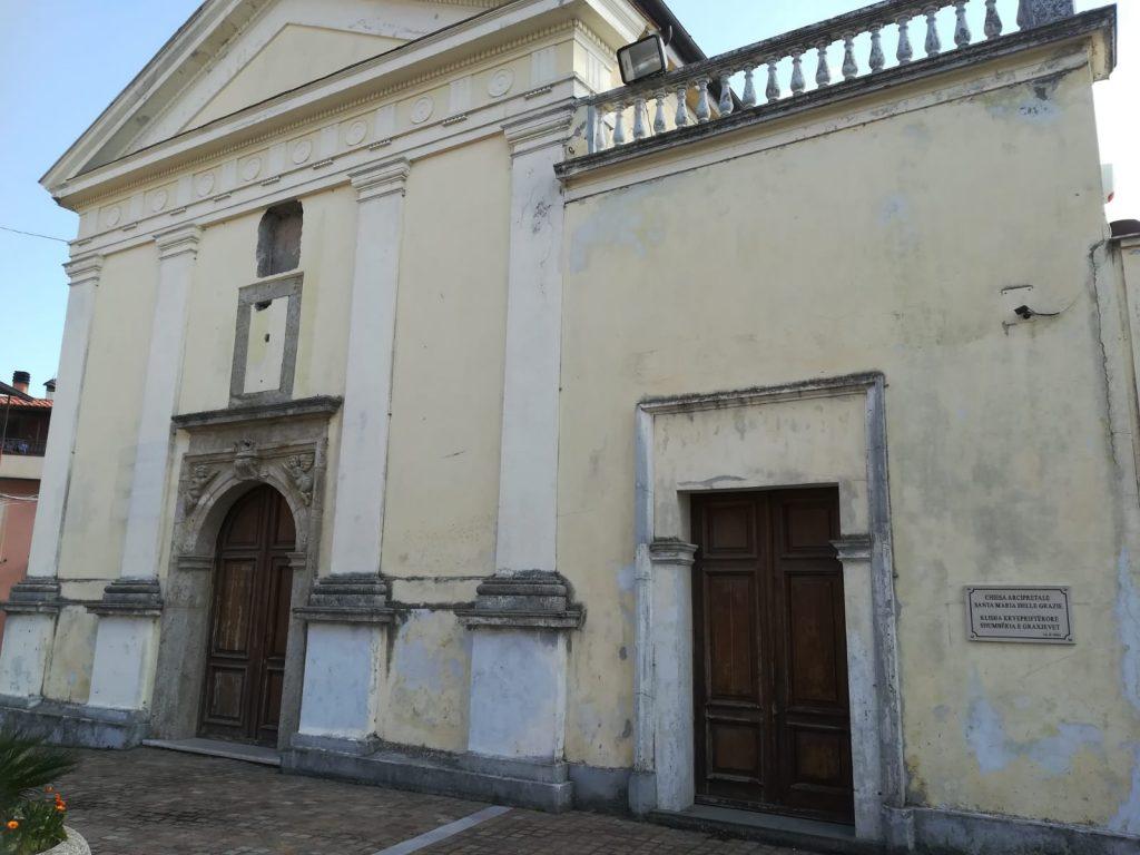 Zangarona e la vecchia Chiesa