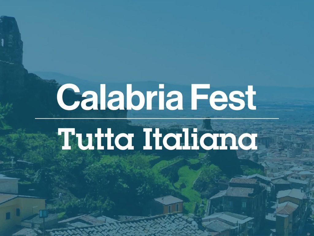 Calabria Fest Cartolina