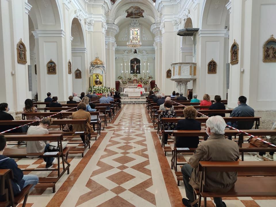 La Chiesa Matrice Durante La Novena Di San Francesco