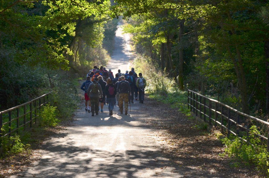 Soci Del Gruppo Cammino Di Gioacchino In Marcia