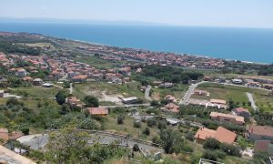 Panorama Di Falerna Visto Da Castiglione Marittimo