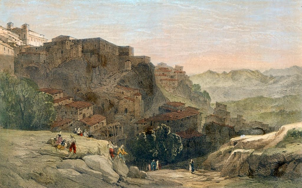 I viaggi di Lear in un dipinto