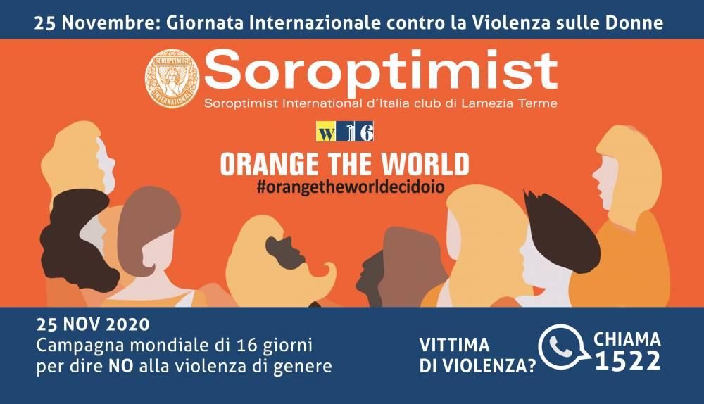 Soroptimist Orange The Word 2020