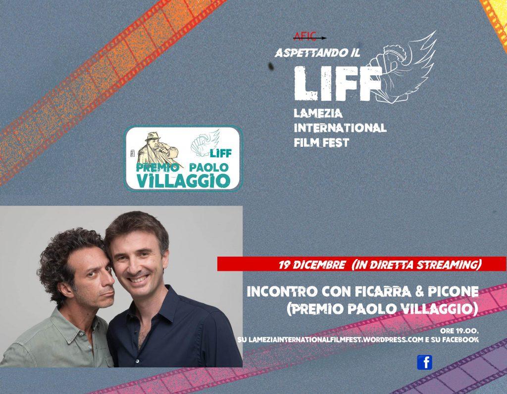 Al liff Panel Ficarra Picone Lamezia international film fest