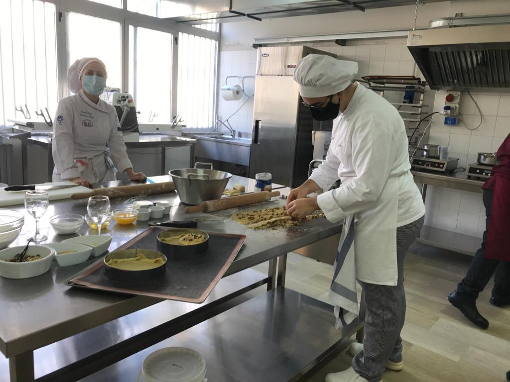 Alunni A Lavoro al menu di san silvestro