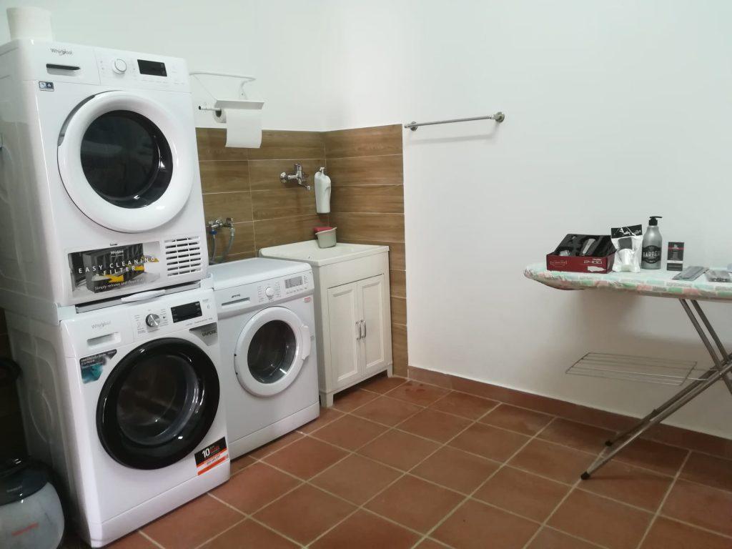 Lavanderia centro docce