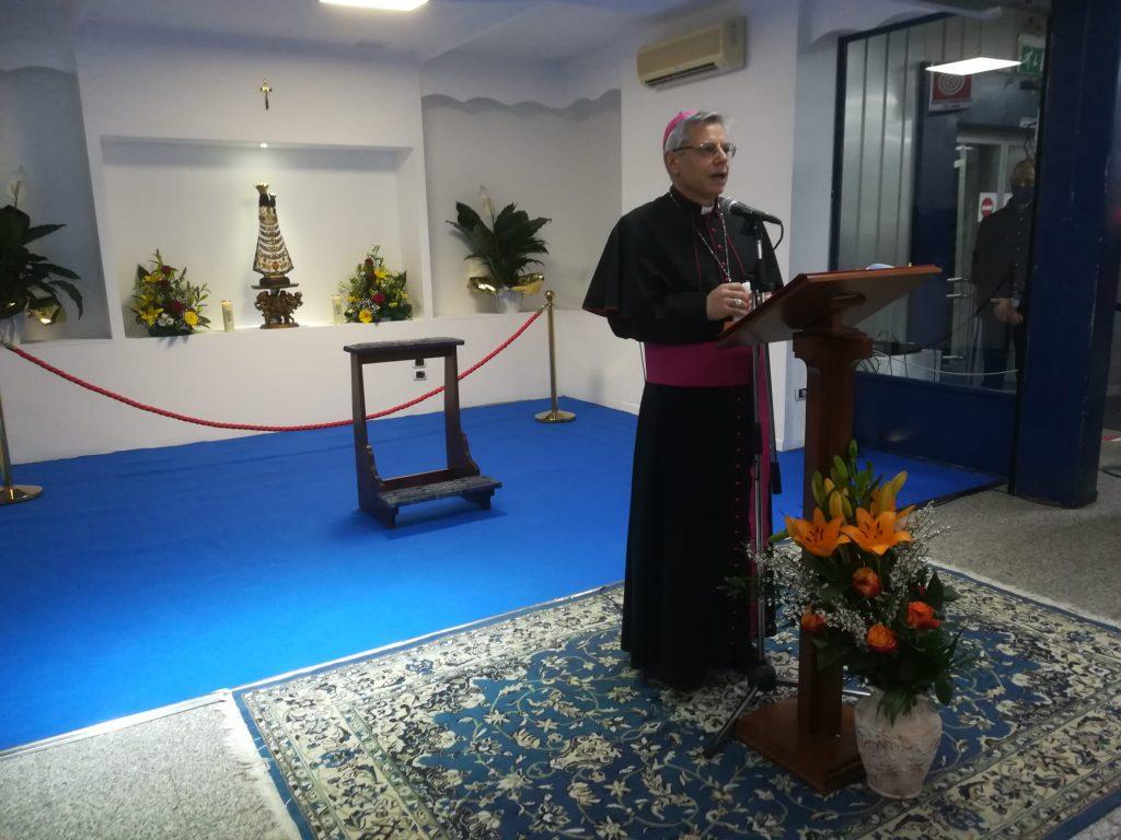 Vescovo Discorso Madonna