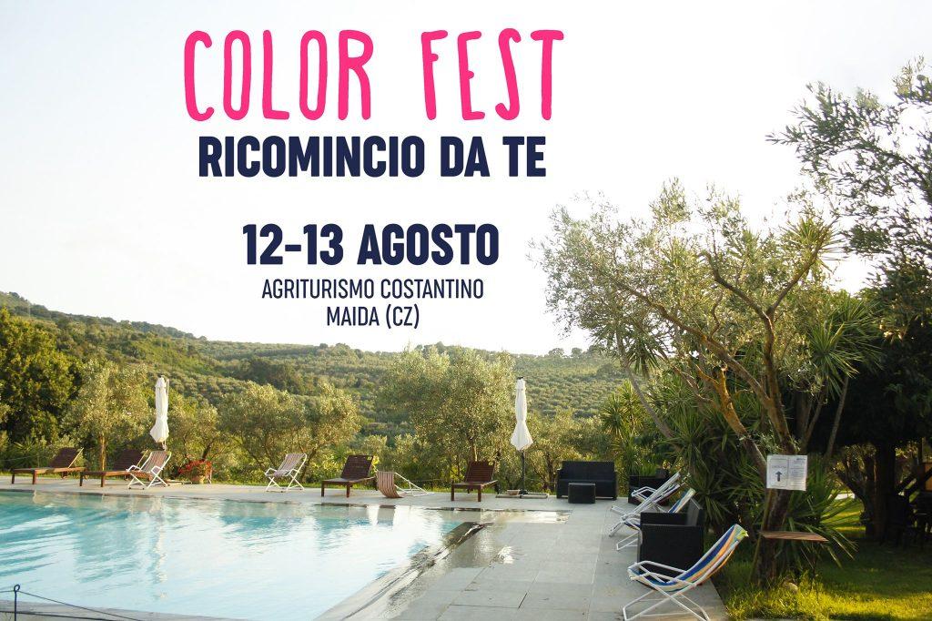 Color fest 2021 Agriturismo