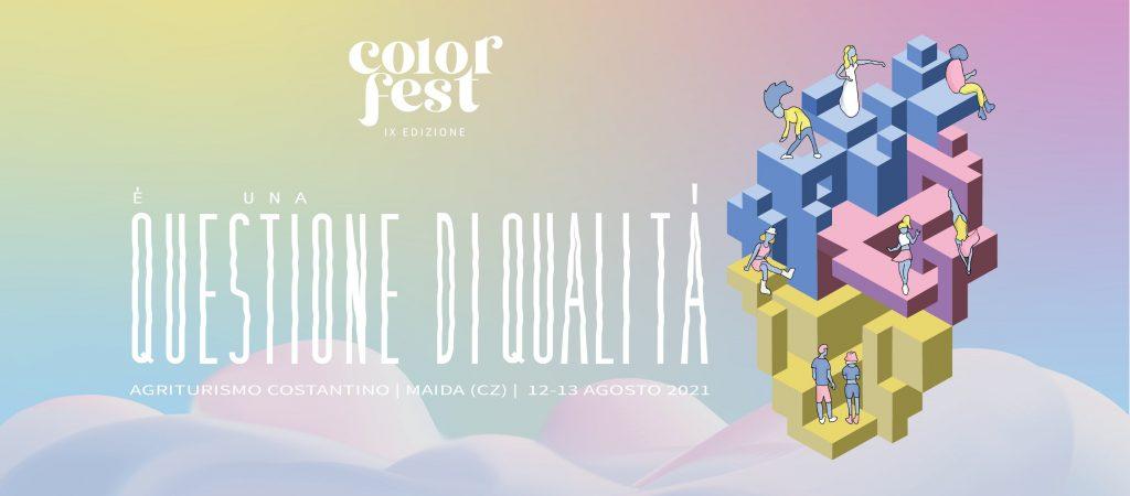 Color fest 2021 Locandina