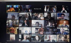 Il Collegamneto Virtuale Dei Soci Dei Due Lions Club