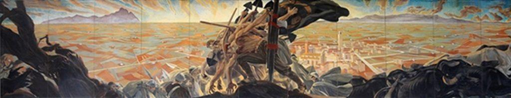 Galleria d'arte Moderna di Latina - importante e pregevole dipinto
