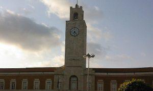 latina e l'architettura razionalista- la torre dell'orologio