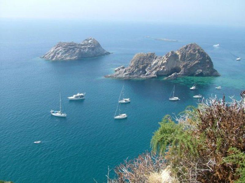 Palmarola - Palmarola vista dall'alto
