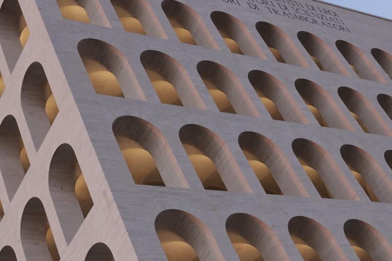Latina e l'architettura razionalista - il Colosseo Quadrato