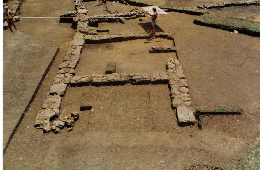 Satrico antica Satricum - scavi di Satricum