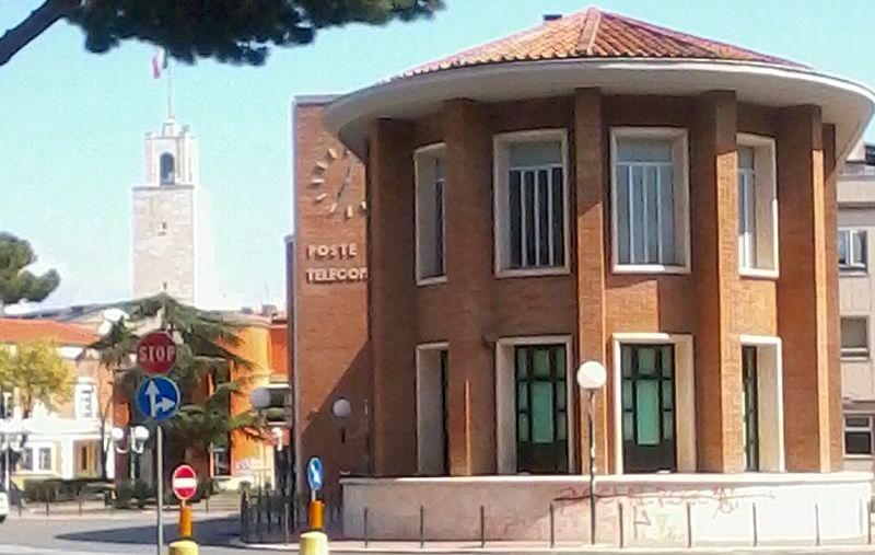 Latina e l'architettura razionalista- ufficio postale di Latina