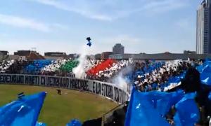 lo stadio di Latina - la curva allo Stadio