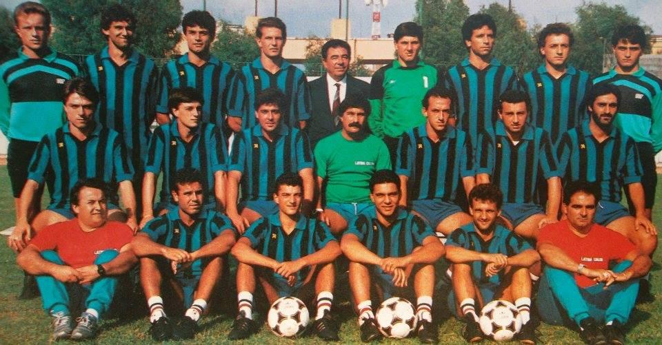 Lo stadio di Latina - Latina Calcio Anni Ottanta