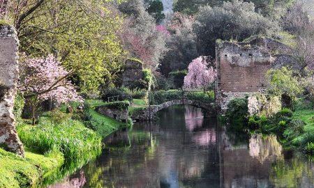 ninfa - i bellissimi giardini