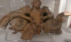 Satrico antica satricum - Satricum in un reperto