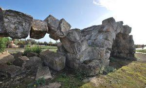Archi - dettaglio di Sezze scalo