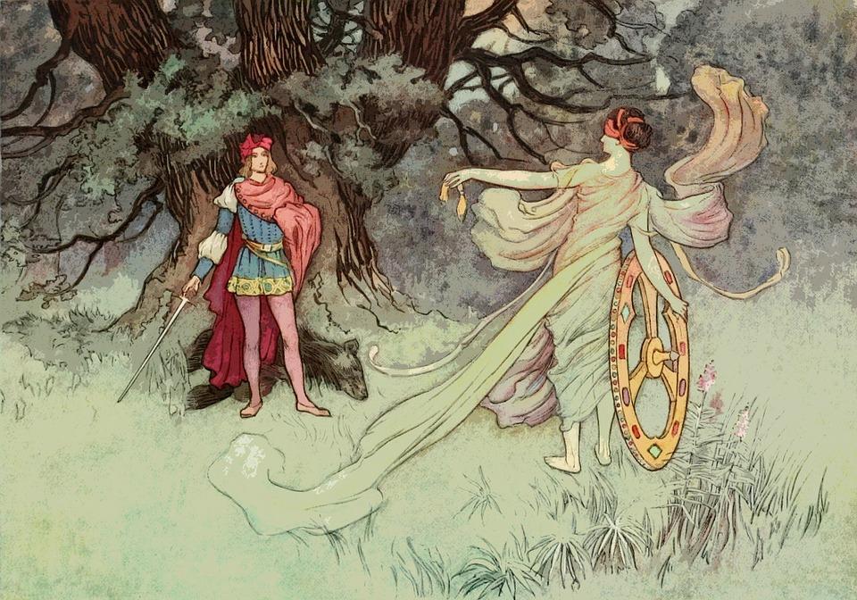 regina Camilla - Principe Ufente trasformato da Diana