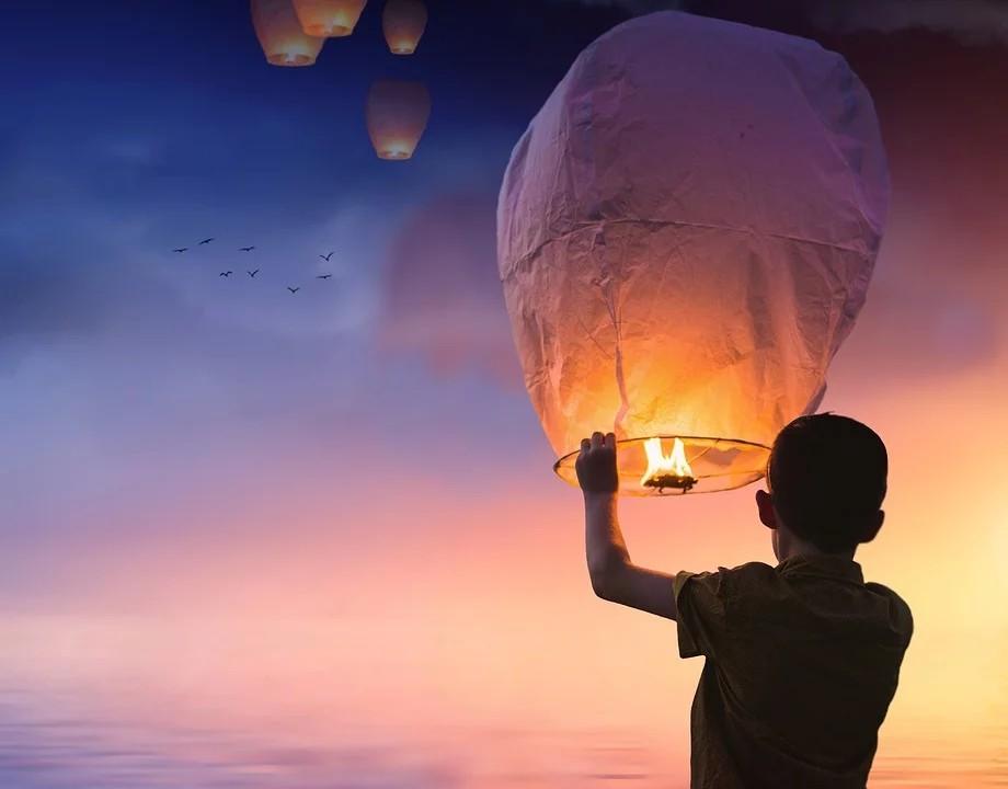capodanno a Latina - Palloncino Lanterne