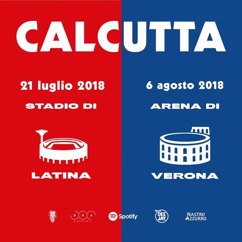 Calcutta - Stadio con concerto di Calcutta