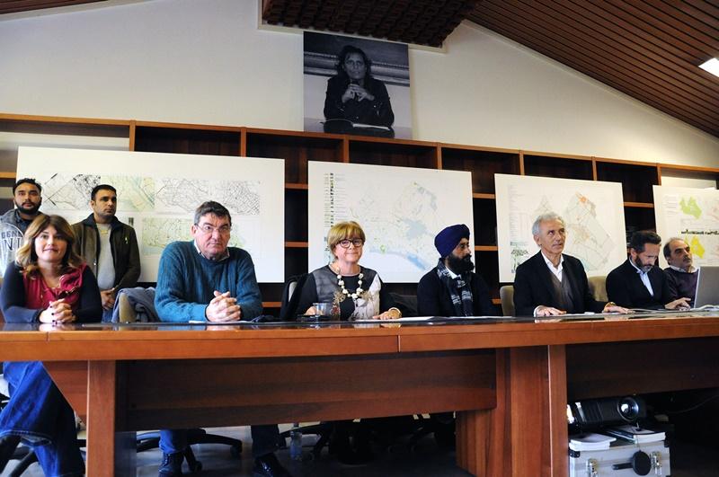 I Sikh pontini - Sikh in municipio