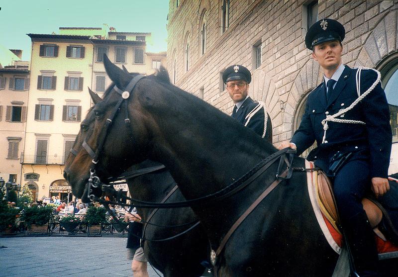 San Sebastiano - Polizia A Cavallo